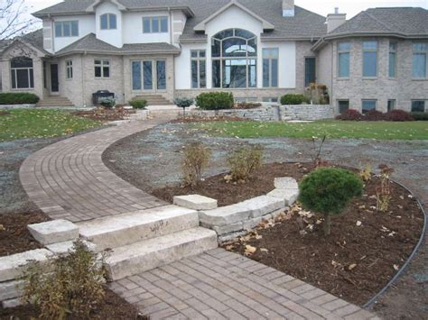 patios and firepits patios pits walkways lang landscape llc wisconsin