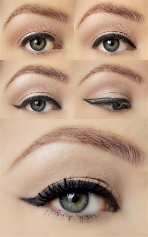 eyeliner tutorial for droopy eyes eye makeup for sagging eyes makeup vidalondon