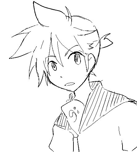 how to draw spiky anime hair spiky hair drawing