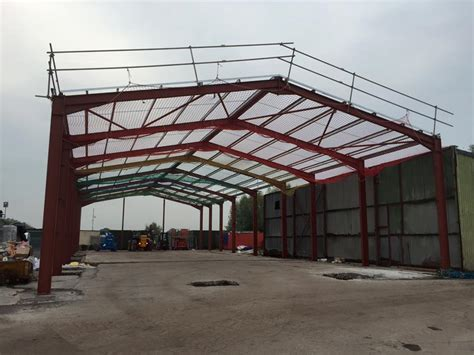 portal steel framed buildings explained seymour construction