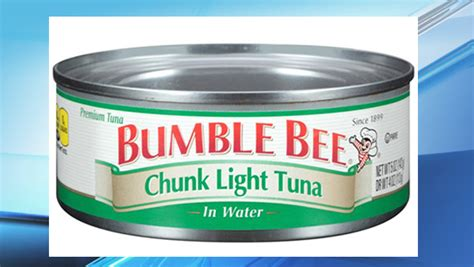Tuna Fish Helps Lead Detox bumble bee issues recall of canned tuna that could lead to