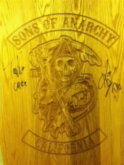 Sons Of Anarchy Meeting Table Two Wheels And A Motor Sons Of Anarchy Fan Darren Rief
