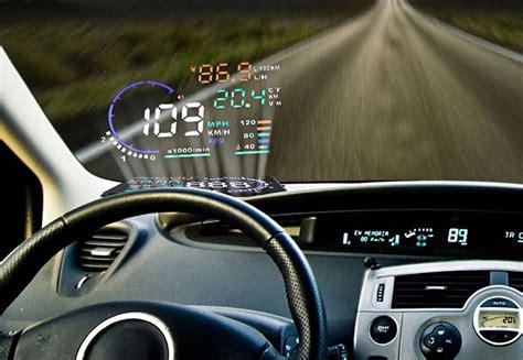 gadget adds  high tech head  display   car bgr