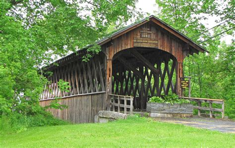 Covered Bridge New York State Covered Bridges Travel Photos By Galen R