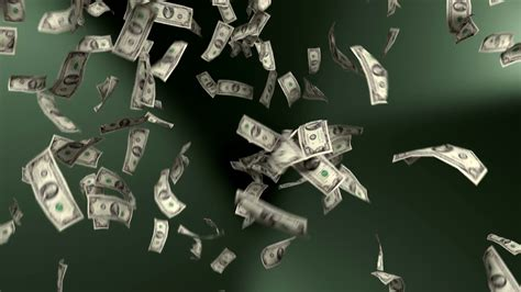 money backgrounds money falling dollars financial win us currency tax green