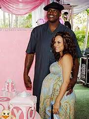 Shaquille o neal amp wife have a girl shaquille o neal