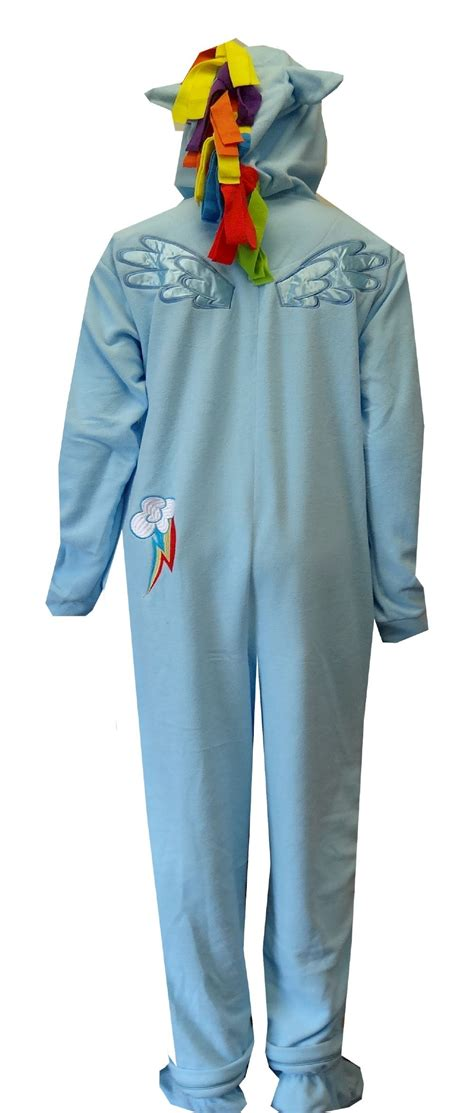 Litte Pajamas by My Pony Rainbow Dash Fleece One Footie Pajama