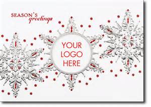 season greetings cards for businesses snowflake trio logo season s greetings