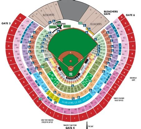 yankee stadium seating chart view section quotrux target field seating view