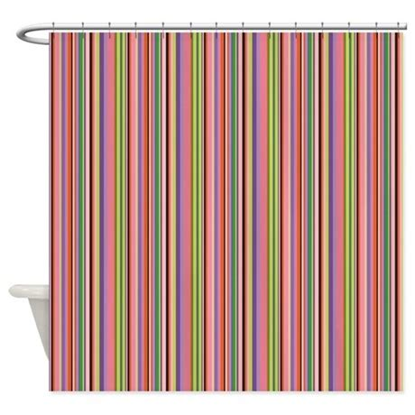 curtains colorful colorful stripes shower curtain by iloveyou1