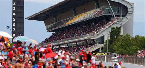 barcelona dan catalunya formel 1 spanien strecke der grand prix von spanien