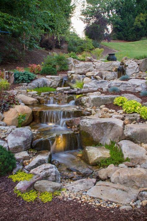 backyard streams and waterfalls 889 best backyard waterfalls and streams images on