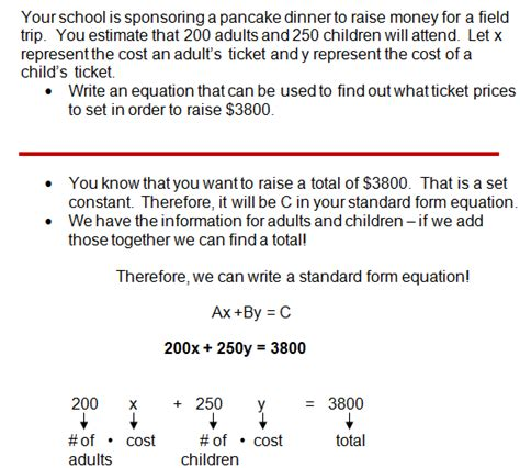Writing Equations From Word Problems Worksheet The Best