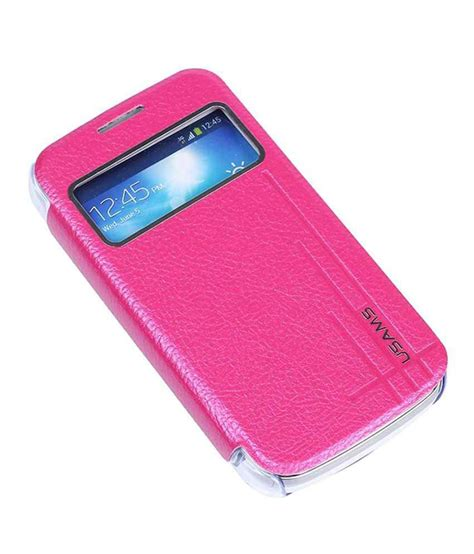 Flip Cover Standing Samsung S4 Usams Samsung Galaxy S4 Zoom Flip Stand Cover Starry