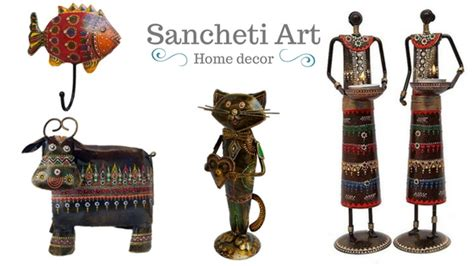 home decor showpieces sancheti art handmade metal showpieces tea light