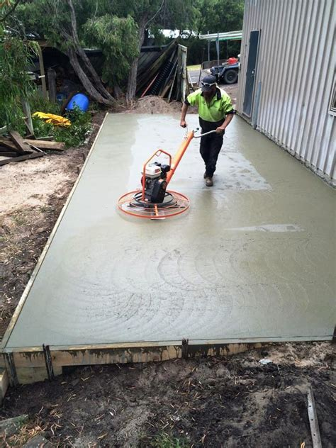 How To Build A Shed On A Concrete Slab by Concrete Shed Extension Slab In Point