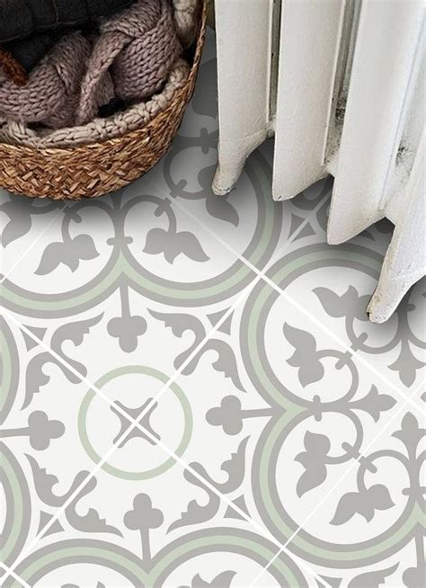 Sticker Von Fliesen Entfernen by Vinyl Floor Tile Sticker Floor Decals Carreaux Ciment
