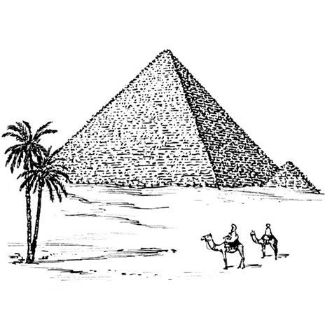 dessin bateau egyptien coloriage pyramide egypte a imprimer gratuit