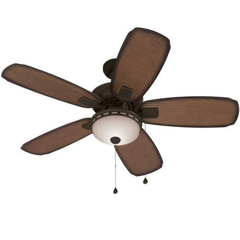 52 outdoor ceiling fan shop harbor breeze oyster cove 52 in aged bronze downrod