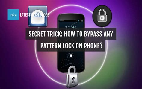 bypass pattern lock on android secret trick how to bypass any pattern lock on phone