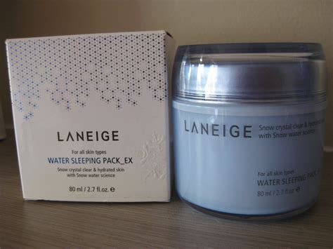 Laneige Water Sleeping Pack Malaysia apple scents review laneige water sleeping pack ex