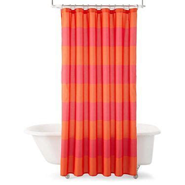 jcpenny shower curtains jcp home collection jcpenney home owen stripe shower