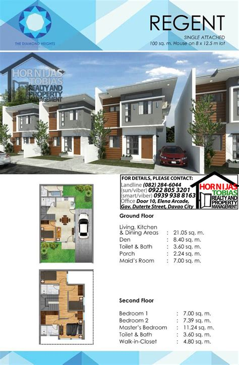 regent heights floor plan regent house diamond heights davao property finder