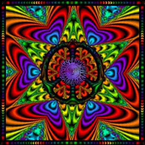 244 Best Images About Hippie Days On Pinterest Black Peace Sign With Color On Inside