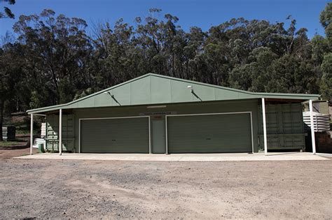 Sheds Goulburn by Toyota Land Cruiser Club 4wd Property Willowglen