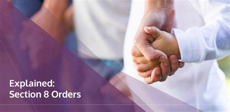 section 8 paperwork section 8 orders explained brookman solicitors