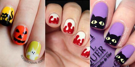 easy nail art halloween 26 halloween nail art ideas easy halloween nail designs