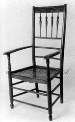 spindleback chairs philip clissett, chairmaker