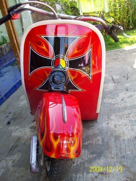 Foto Modifikasi Vespa Gokart by Vespa Ceper Sejarah Vespa Ceper Di Indonesia