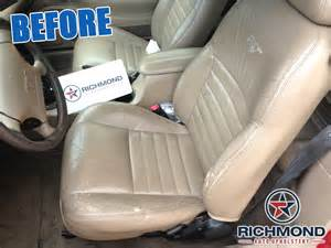 Replacement Auto Upholstery 1999 2004 Ford Mustang Gt Leather Seat Passenger Bottom