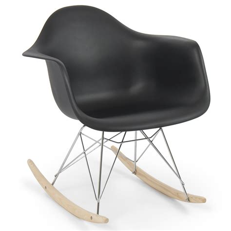 retro dsw eames style modern arm chair rar rocker rocking - Style Rocking Chair