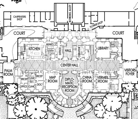 white house residence floor plan white house floor plan residence