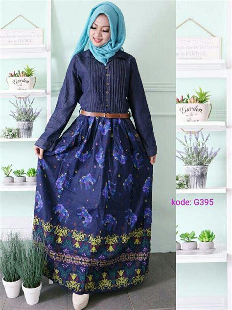 Setelan Tangan Panjang Kancing Depan Tocano Size S M L By Velvet gamis motif gajah g395 baju style ootd