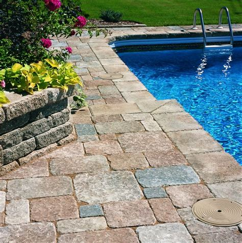 pool deck stone 25 stone pool deck design ideas digsdigs