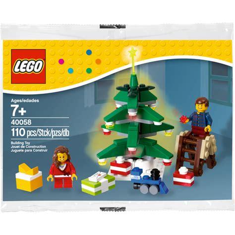 Lego 40058 Decorating The Tree Polybag lego decorating the tree set 40058 brick owl lego