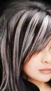 1000 ideas about gray hair highlights on pinterest gray