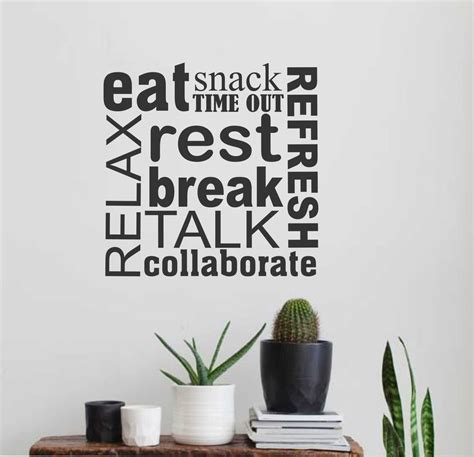 lettering stickers for walls room word collage wall lettering vinyl office