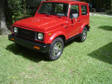 1986 Suzuki Samurai For Sale Buy New 1986 Suzuki Samurai 4x4 Tin Top In Tallahassee