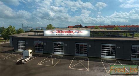 How Big Should A Garage Be For 2 Cars by Big Garage Weeda 1 22 X Mod Truck Simulator 2 Mods