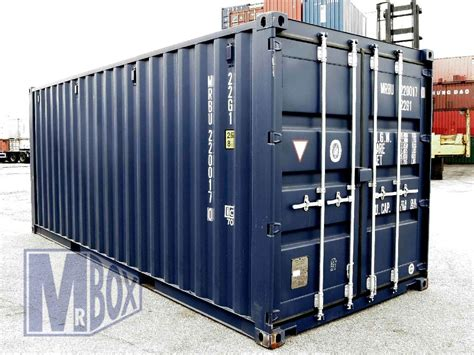 20 x 20 storage container 20 foot container dimensions