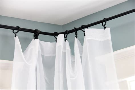 windows curtain rods curtains curtain rods ikea decorating curtain rods for bay