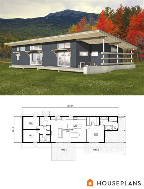Small Modern Contemporary House Plans by House Small Contemporary House Plans 25 Best Small Modern