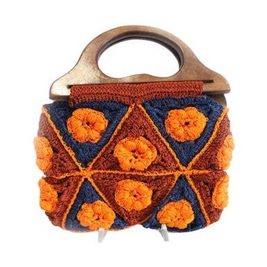Tas Rajut Handbag 2 Ruang 20 model tas rajut cantik untuk berbagai kesempatan