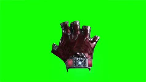 green screen iron man civil war glove gauntlet