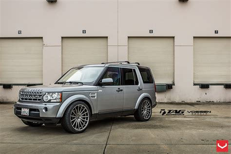 silver land rover lr4 royal look of silver land rover lr4 with custom additions