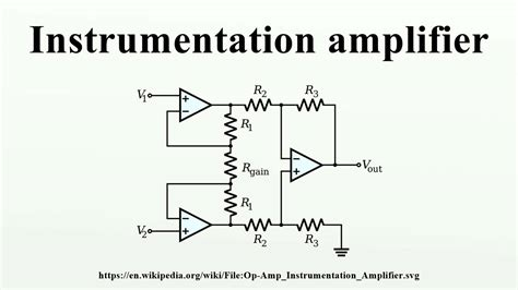 integrated circuit instrumentation lifier instrumentation lifier